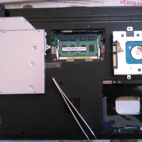 Полный разбор и чистка ноутбука